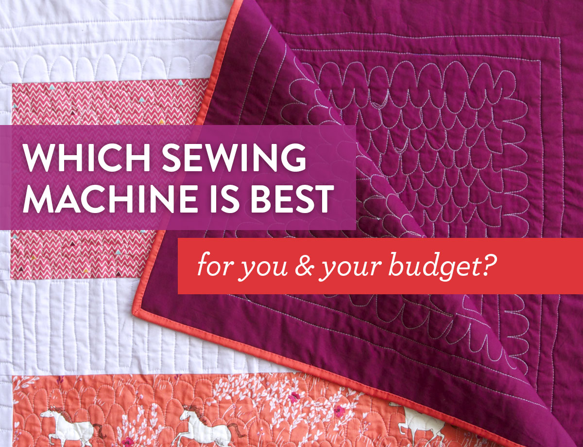 quilting with sewing machine