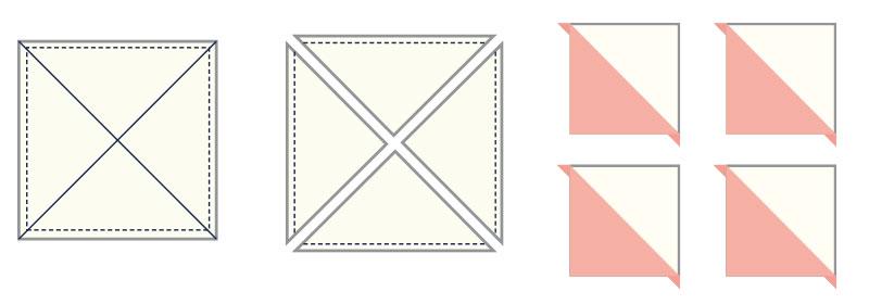 Half Square Triangle Pattern