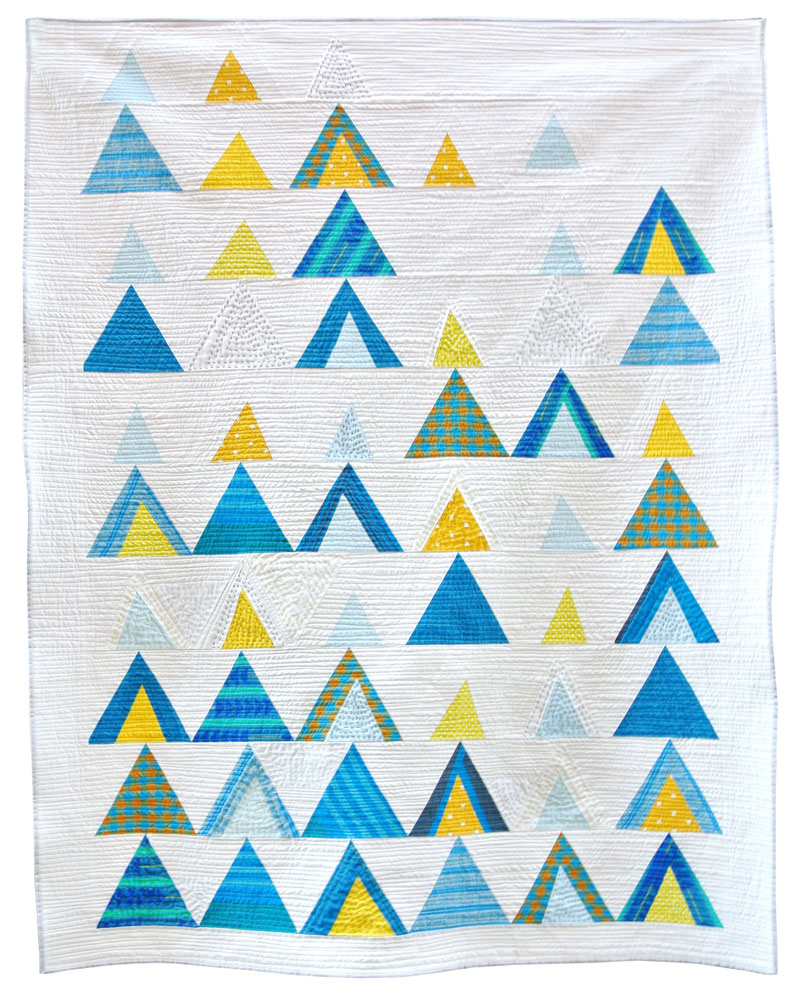 Mod-Mountains Quilt