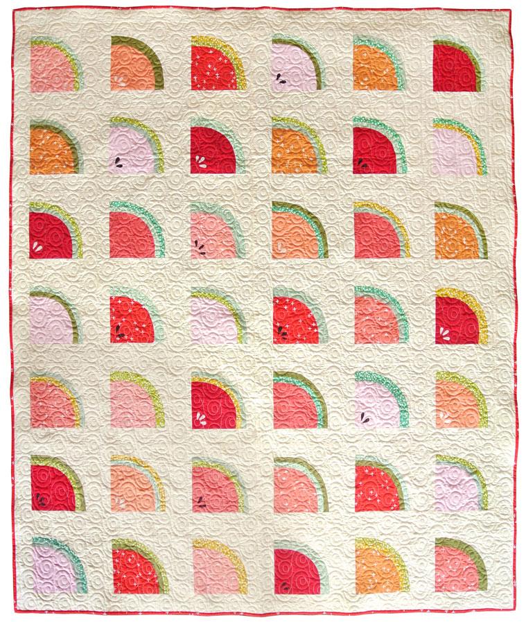 Mod Melons Quilt