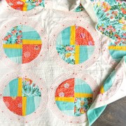Custom propeller quilt pattern
