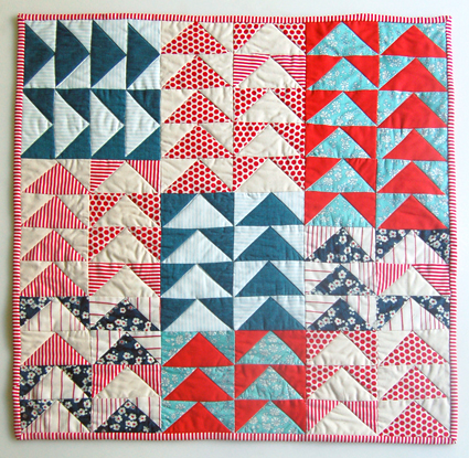 mini-flying-geese-quilt
