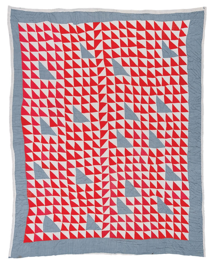 Gees Bend Chambray Quilt
