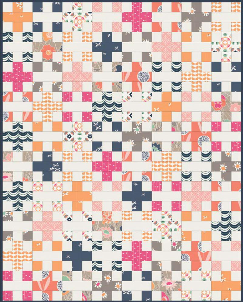 10 Fun & Free Scrap Quilt Patterns - Suzy Quilts