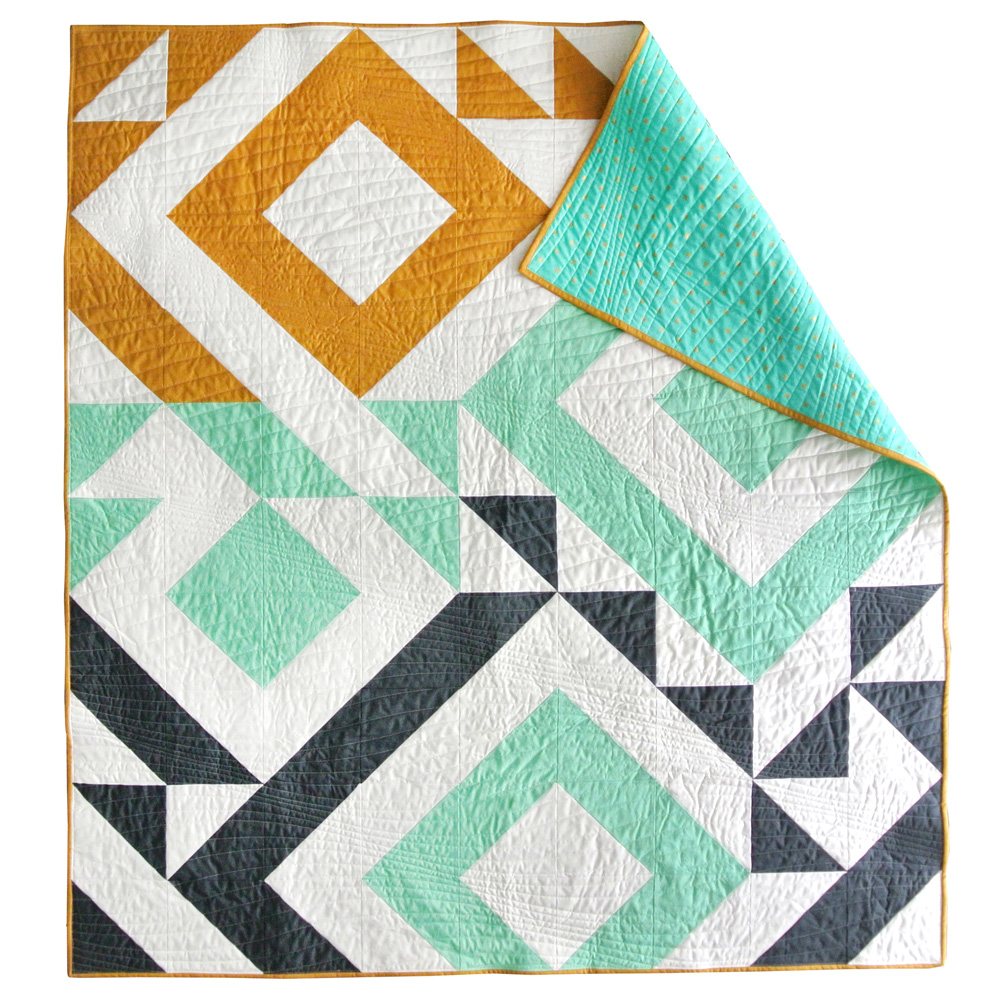 Triangle Jitters Quilt Pattern Download Suzy Quilts