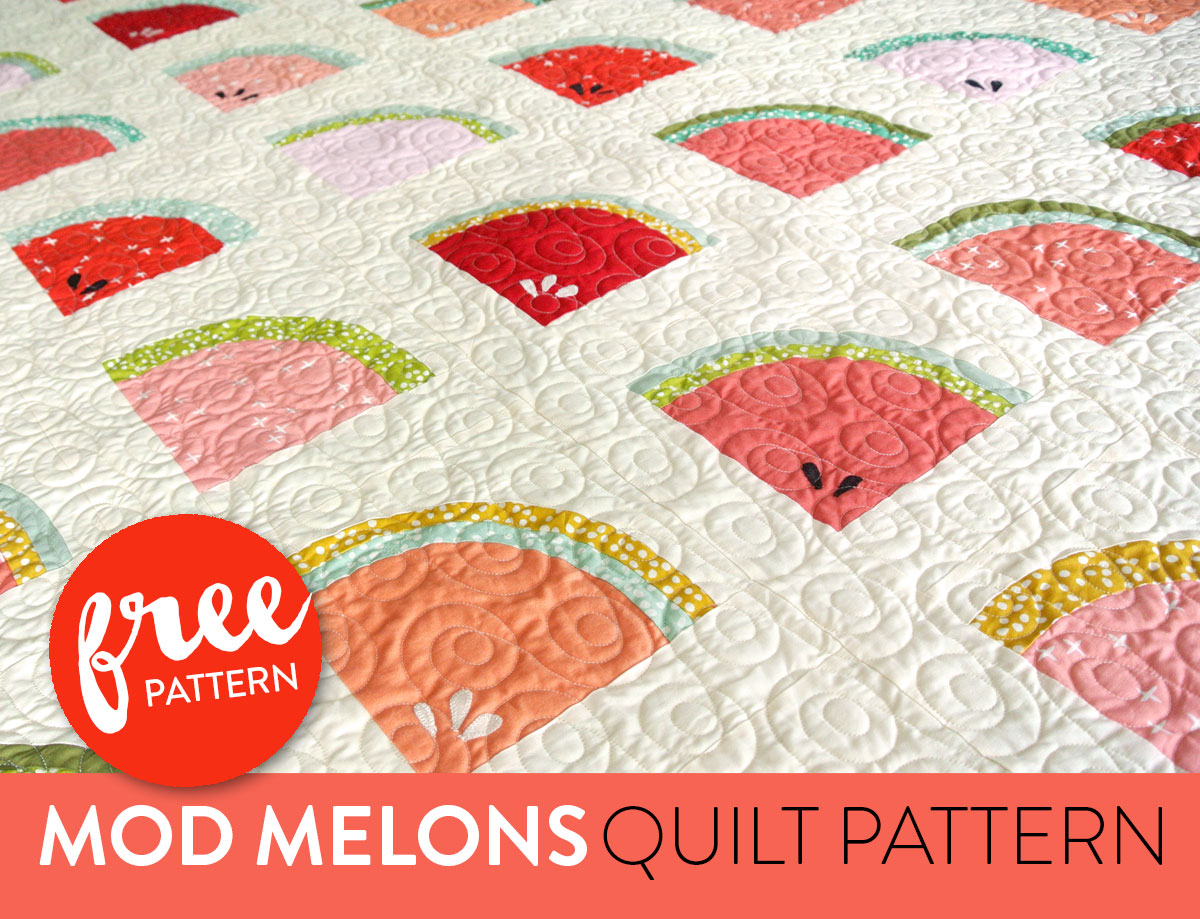 Watermelon-Free-Quilt-Pattern