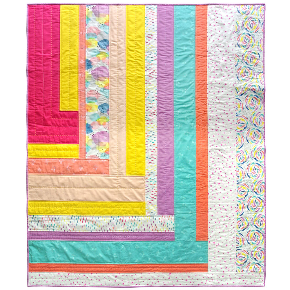 Weekend candy quilt pattern download suzy quilts for How to make a quilt template