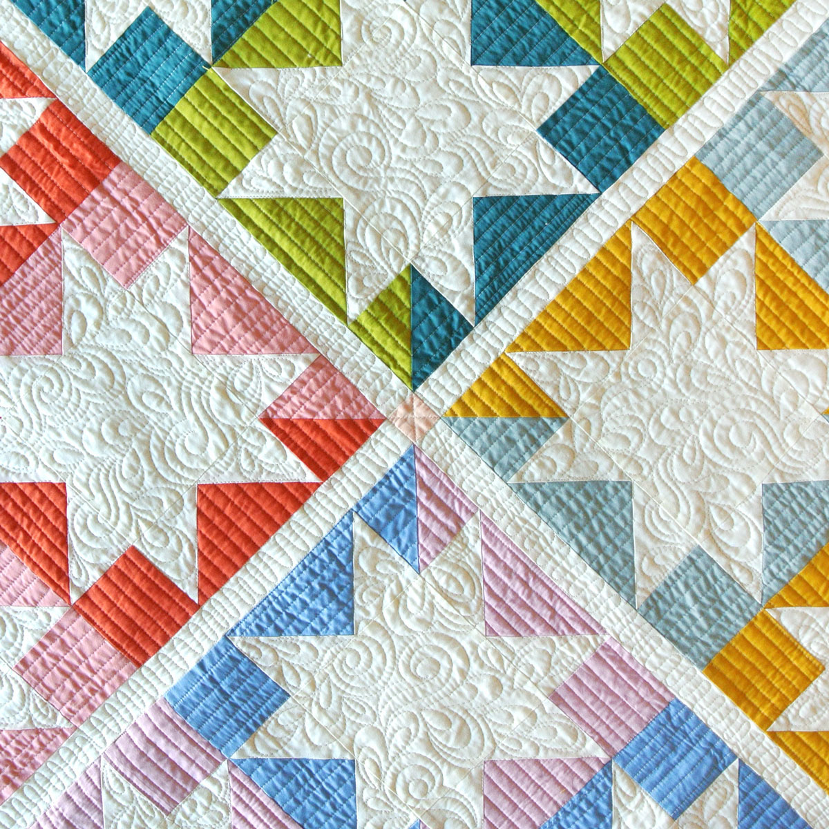 Patterns Gallery: Stars Hollow Quilt Pattern (Download)