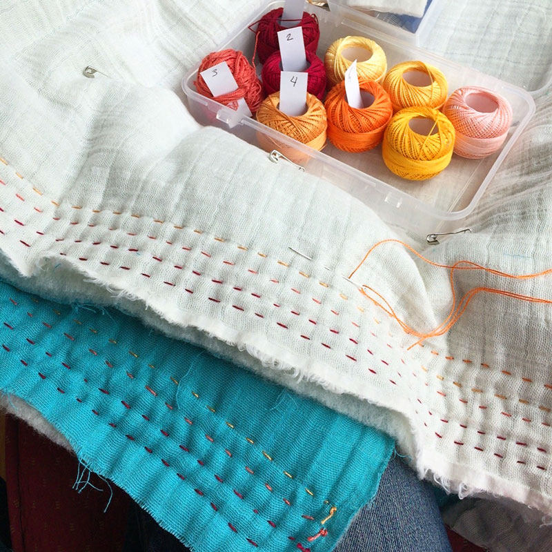 Double-Gauze-Quilting