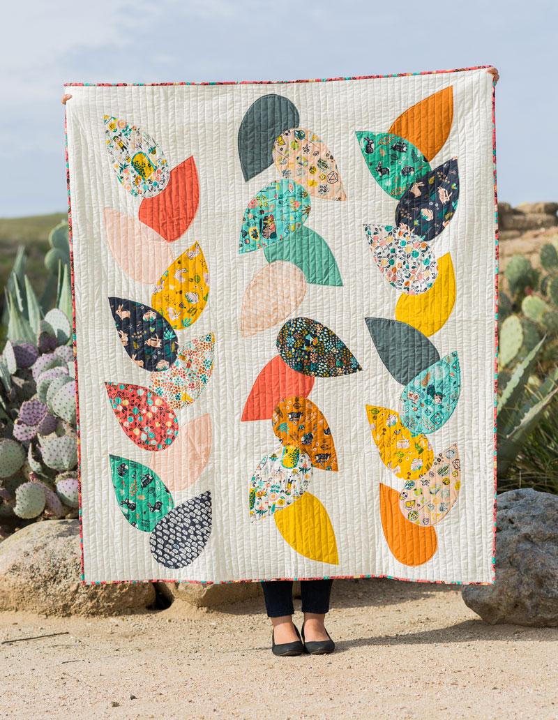 Free Hidden Garden Quilt Pattern Suzy Quilts
