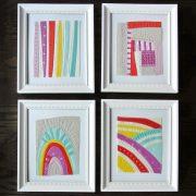 Sew-Mojo-Mini-Quilts-Framed