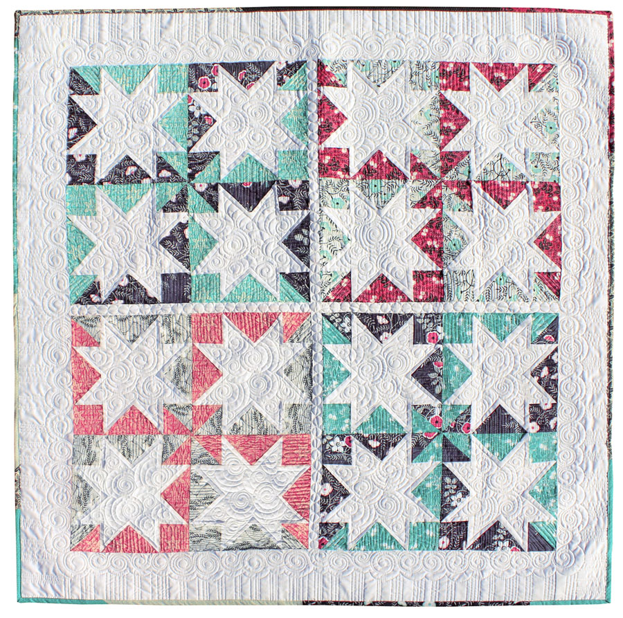 Stars-Hollow-Cherry-Mint-Fabric-Quilt