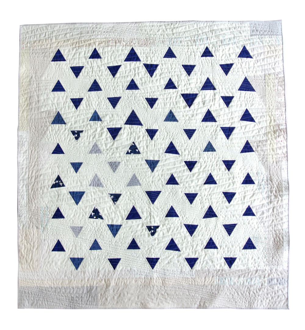 Minimal Triangles Quilt Pattern Download Suzy Quilts