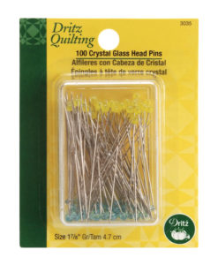Quilting-Glass-Head-Pins