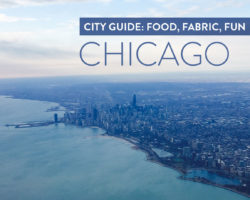 Chicago Fabric: A Weekend Guide for Food + Fabric + Wrigley
