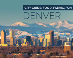 Denver Fabric: A Weekend Guide for Classin' It Up, A Mile High