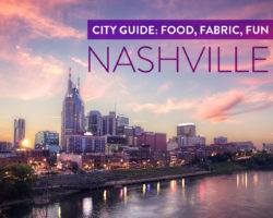 Nashville Fabric: A Weekend for Quilters and Cupcake-Lovers