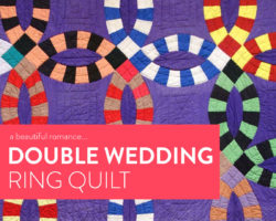 A Beautiful Romance: The Double Wedding Ring Quilt