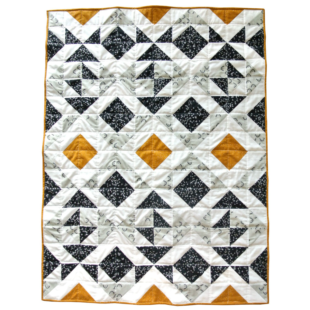 Nordic Triangles Quilt Pattern (Download) - Suzy Quilts : triangle pattern quilt - Adamdwight.com