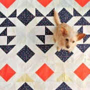 Nordic-Triangles-Quilt-For-Sale