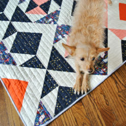 Striped Quilt Binding