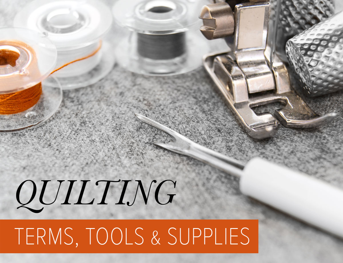 Quilting Terms, Tools & Supplies - Suzy Quilts : quilting tools and supplies - Adamdwight.com