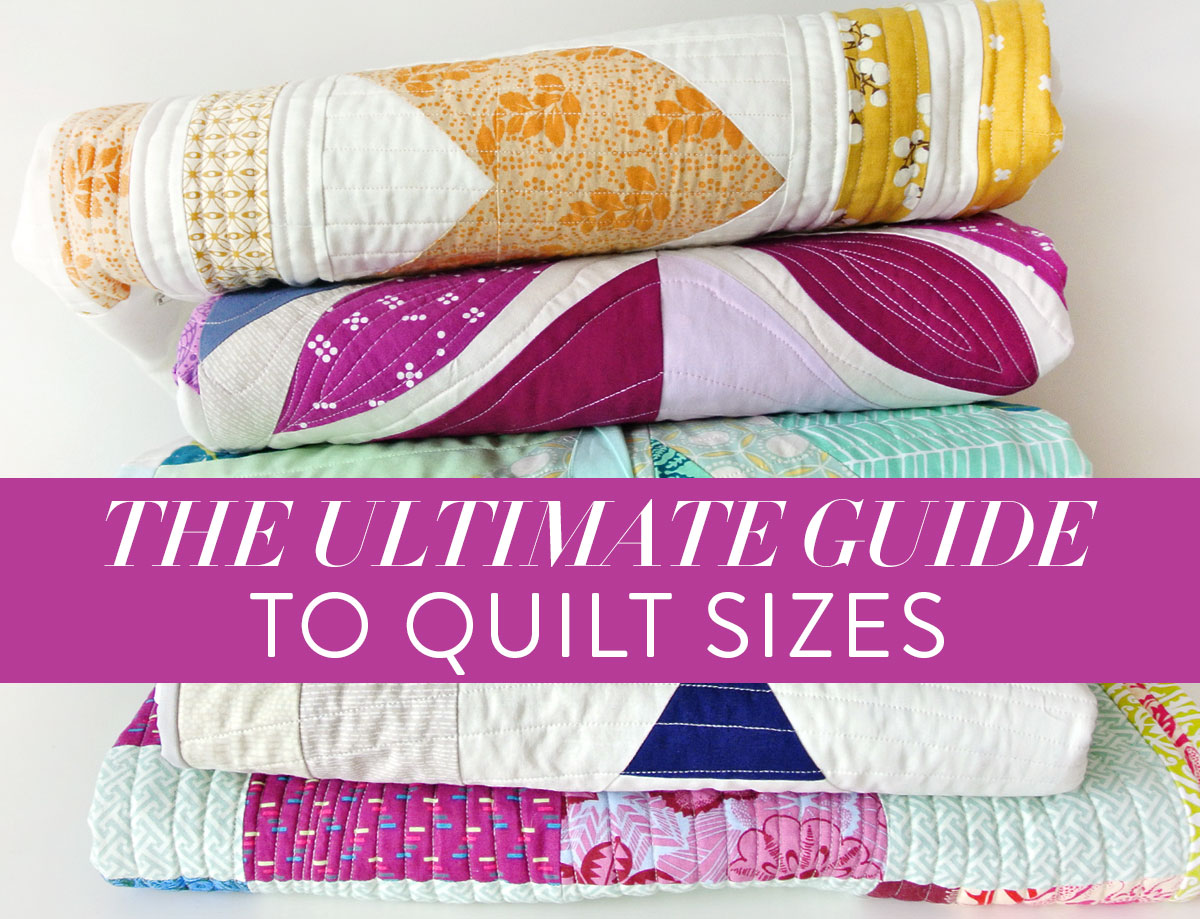 The Ultimate Guide To Quilt Sizes - Suzy Quilts : how big are baby quilts - Adamdwight.com