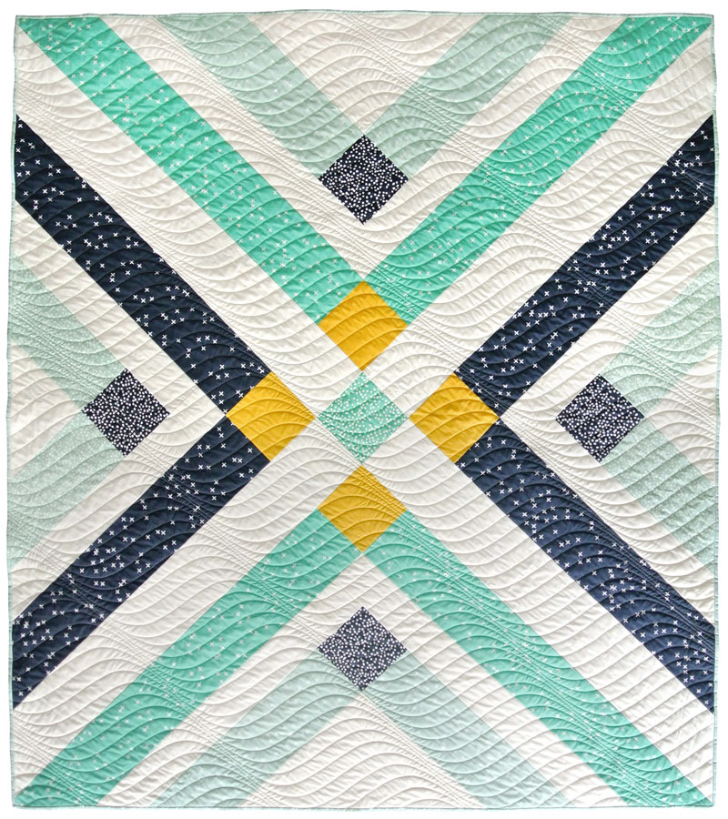 Modern Quilt Patterns Free Download : Retro Plaid Free Quilt Pattern - Suzy Quilts