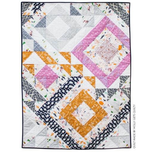 Modern-Geometric-Quilt