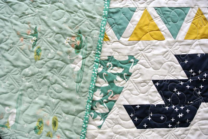 Swan-Fabric