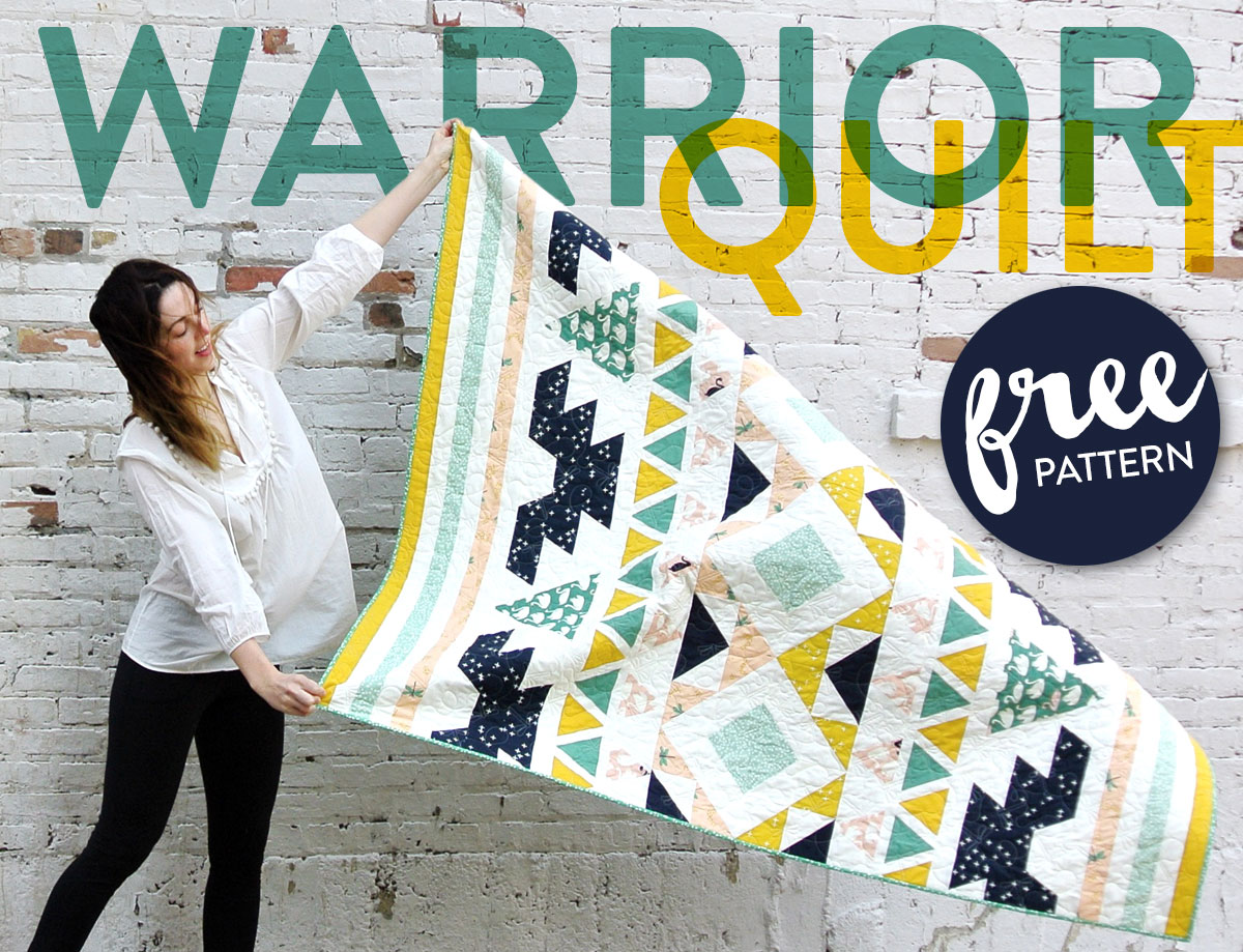 Warrior-Free-Quilt-Pattern