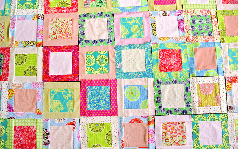 How to Make a Simple Square in a Square Quilt Block - Suzy Quilts : photo quilt squares - Adamdwight.com
