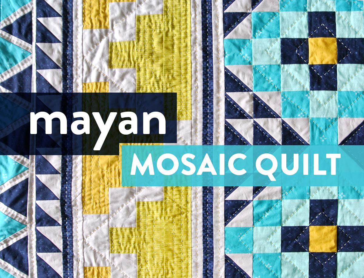 Mayan-Mosaic-Quilt-Pattern