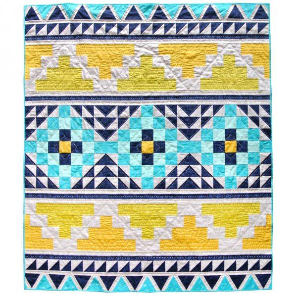Mayan-Mosaic-Quilt Pattern Download
