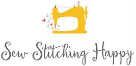 Sew Stitching Happy Logo