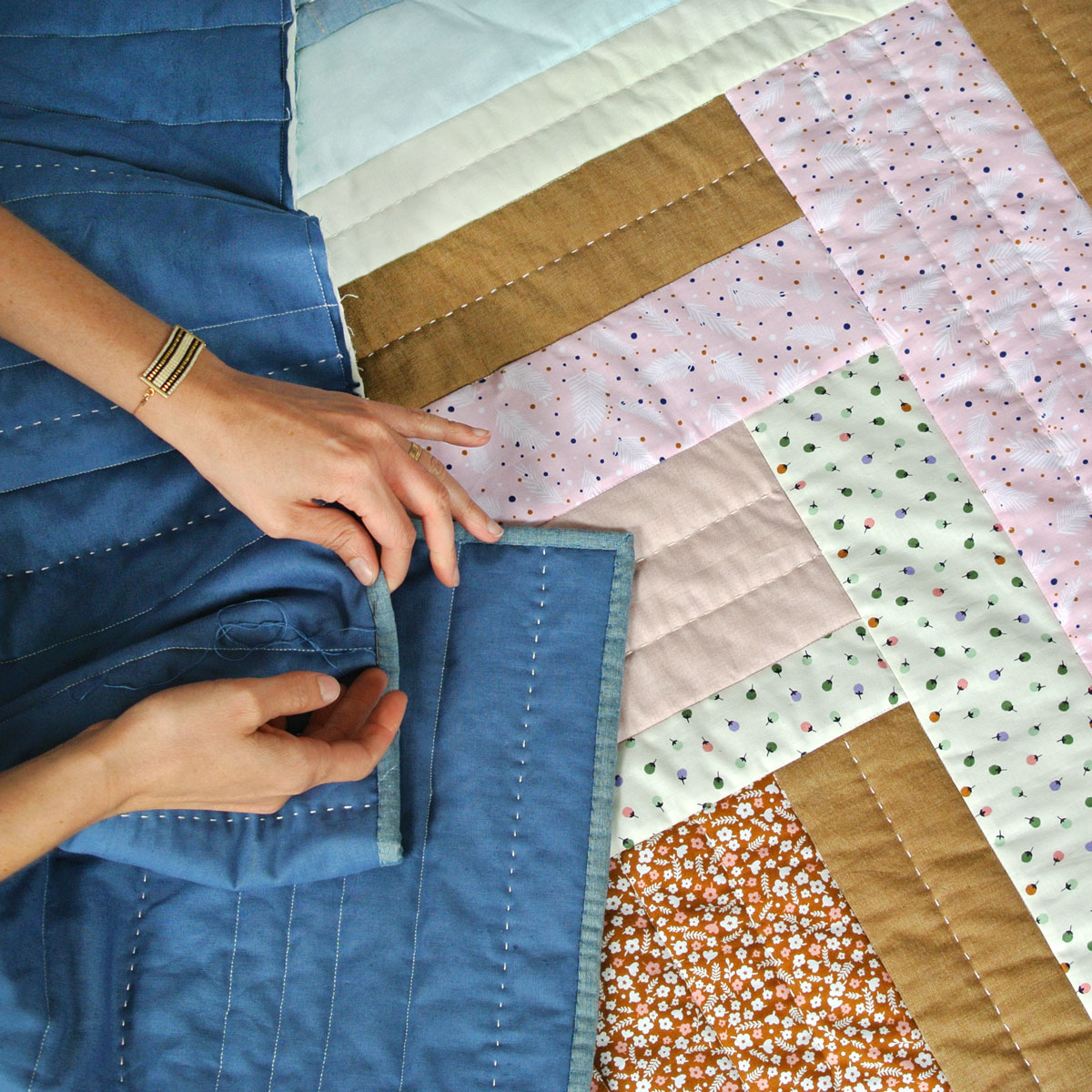 Weekend Candy Quilt Pattern (Download) - Suzy Quilts : quilt in a weekend - Adamdwight.com