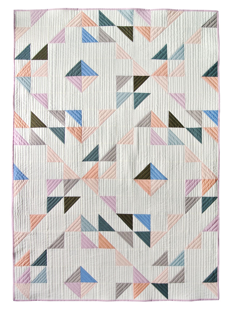 half-square-triangle-free-pattern