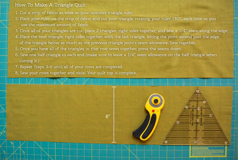 how-to-make-a-triangle-quilt
