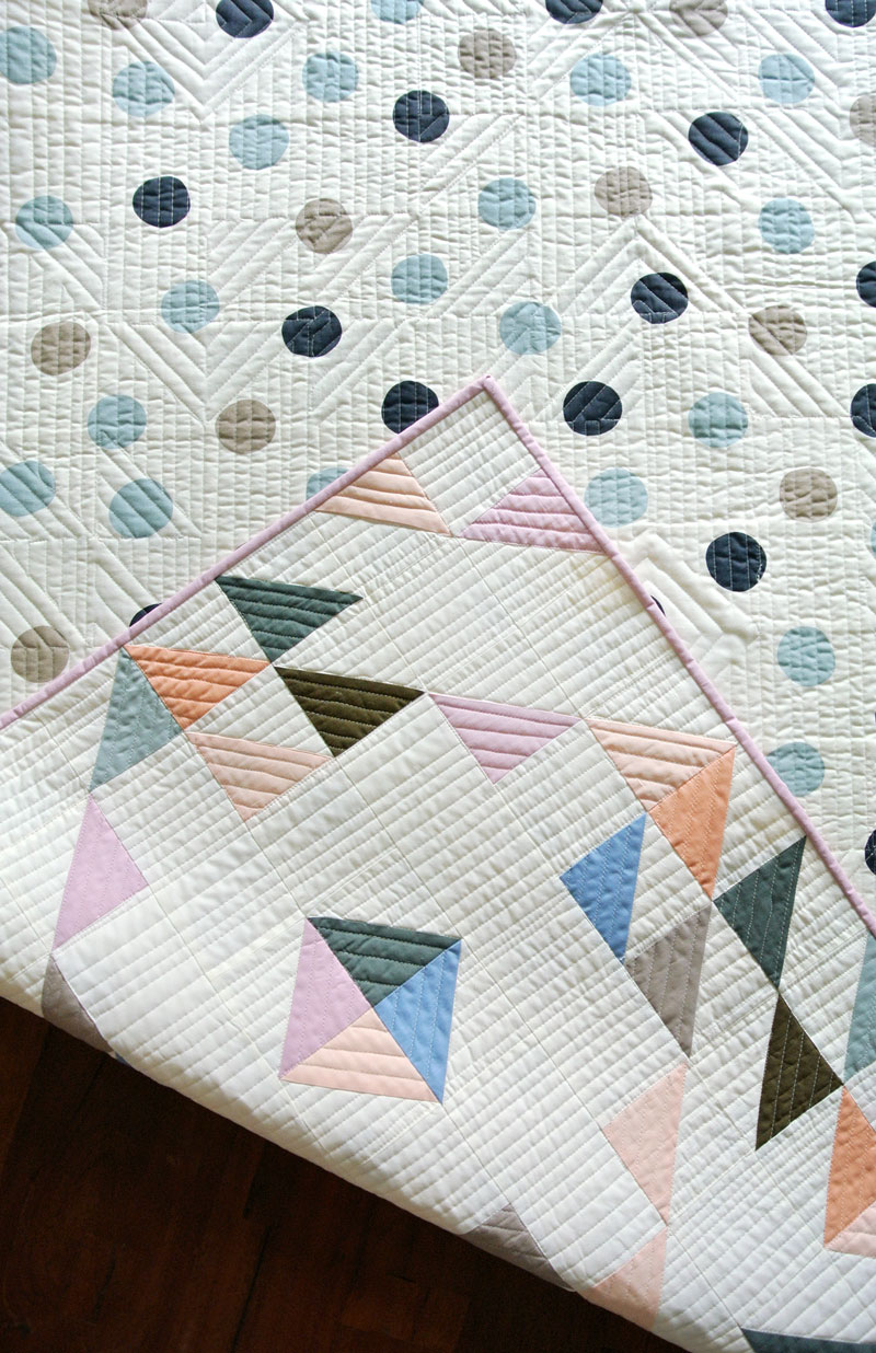 Indian Summer Quilt Pattern (Download) - Suzy Quilts : modern baby quilt patterns - Adamdwight.com