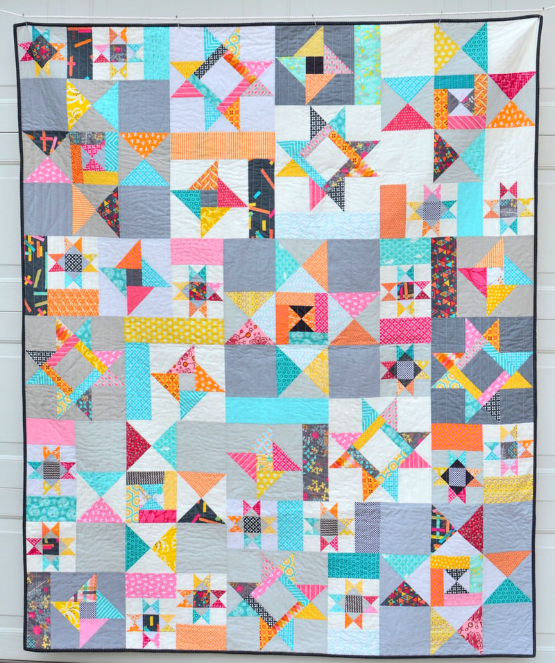 Everything You Need to Know About the Ohio Star Quilt Pattern ... : quilt block history - Adamdwight.com