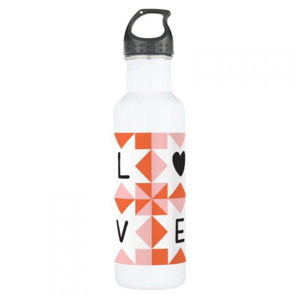 quilt-love-water-bottle