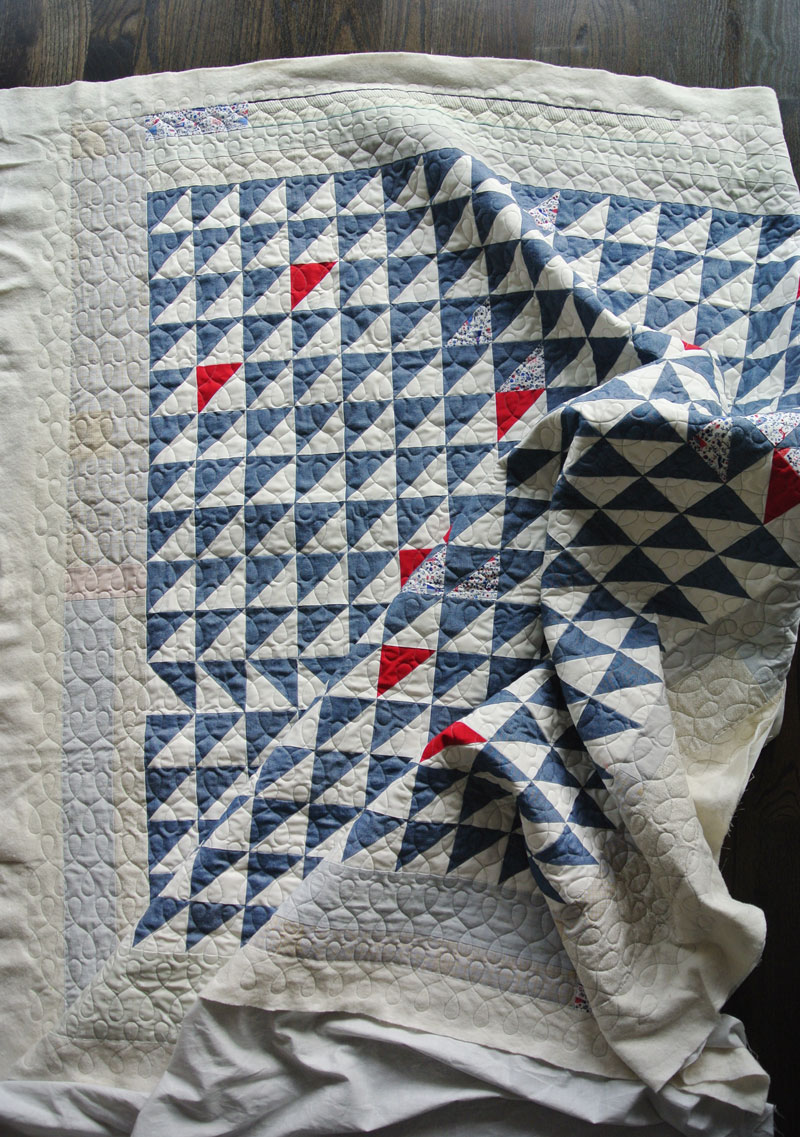 A Quilty Adventure Part I: How to Sew with Denim - Suzy Quilts : denim quilt - Adamdwight.com