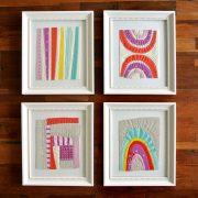 Framed Mini Quilts