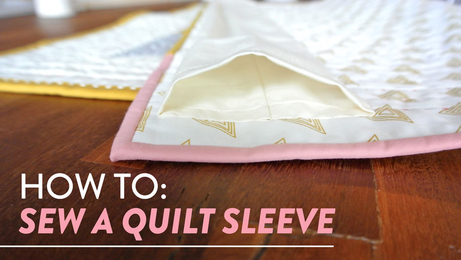 How-To-Sew-a-Quilt-Sleeve