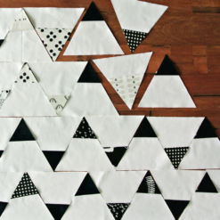 Black-and-White-Triangles-Quilt-Pattern