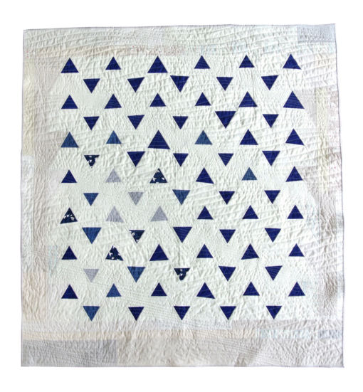 Minimal-Triangles-Modern-Quilt