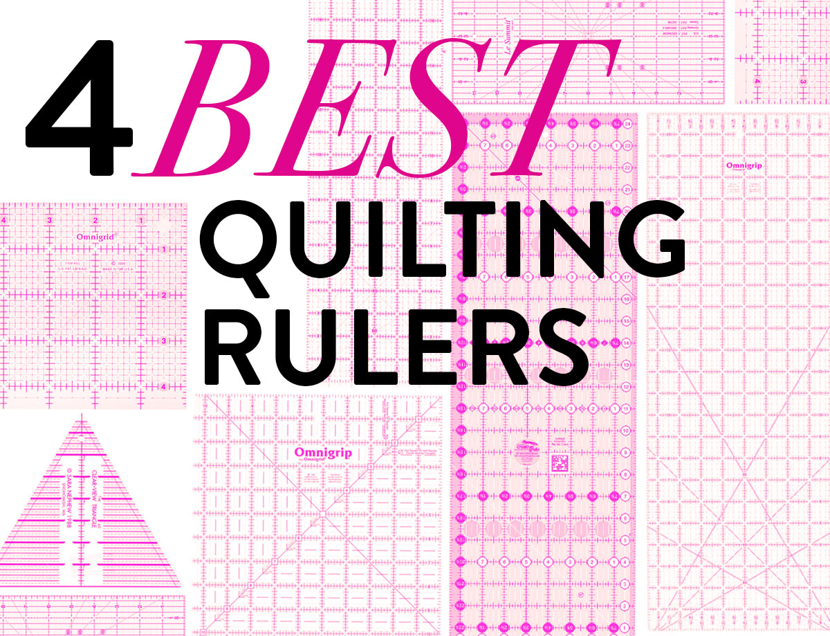The 4 Best Quilting Rulers Suzy Quilts