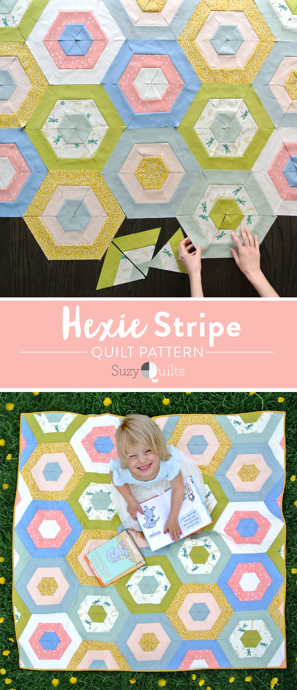 Hexie-Stripe-Suzy-Quilts