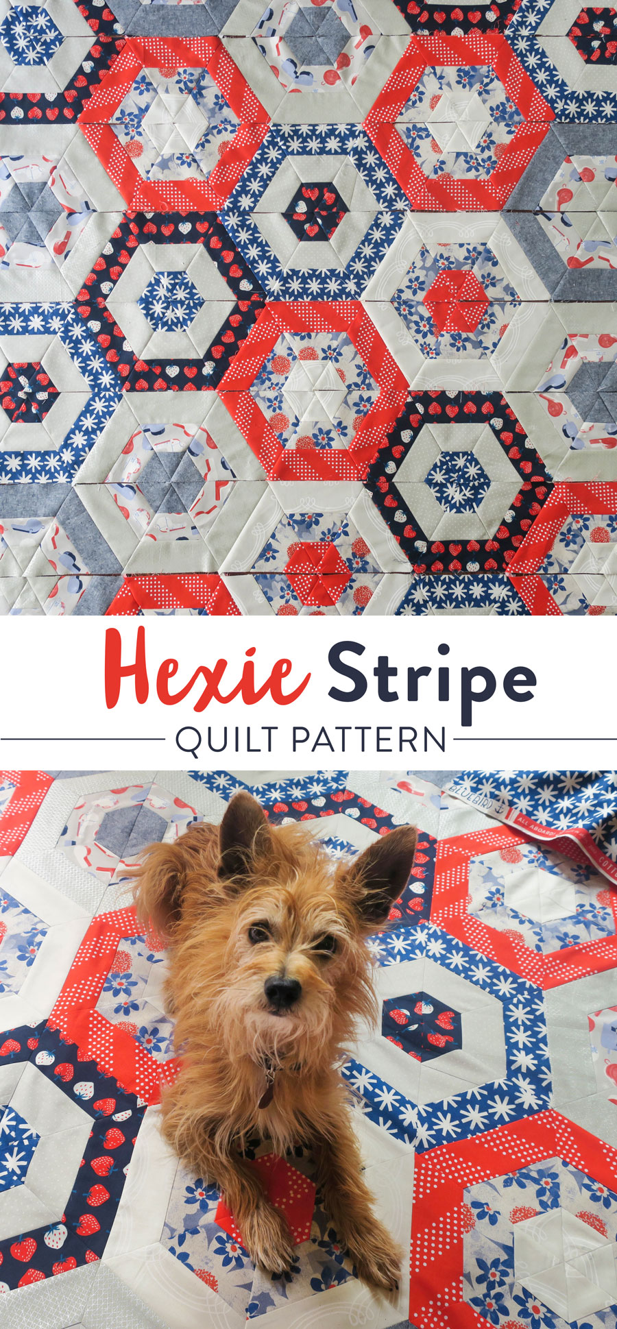 Red-White-Blue-Hexie-Quilt
