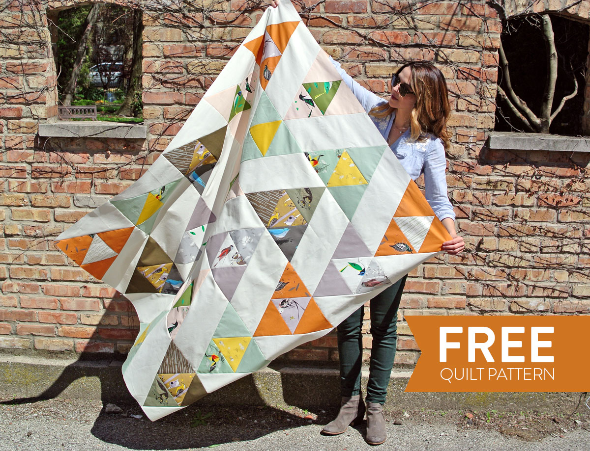 FREE Bird Watching Quilt Pattern - Suzy Quilts : bird quilt pattern - Adamdwight.com